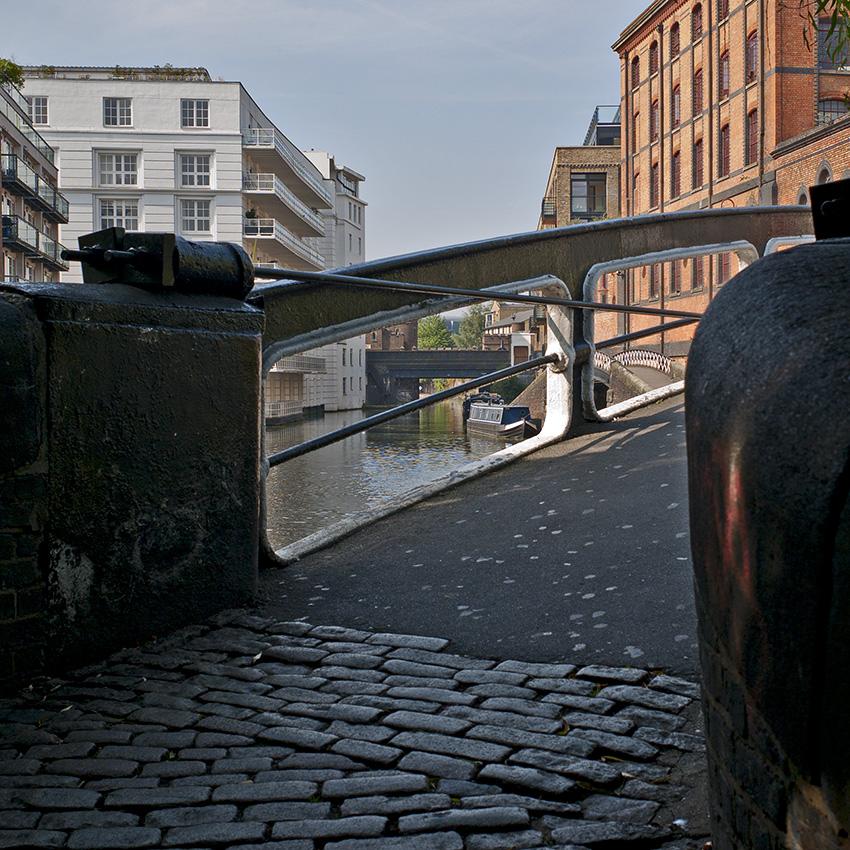Camden Lock Basin, London. Photo: louisberk