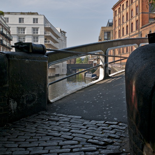 Camden Lock Basin, London. Photo: louisberk
